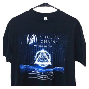KORN Alice in Chains 2019 North American Tour Tee